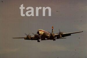 35mm slide aeroplane airplane London  Heathrow  Enterprise 1960s r192