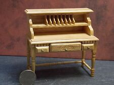 Dollhouse Miniature Oak Writing Desk 1:12 one inch scale D9 Dollys Gallery