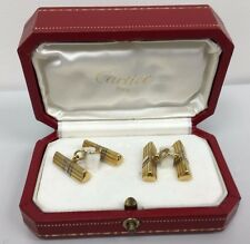 Original CARTIER Trinity Gold Cufflinks Numbered.