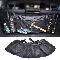 CAR REAR SEAT BACK ORGANIZER HOLDER STORAGE HANGING BAG CARGO NET TRUCK POCKET