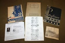 Original Book Grouping Identified to WW2 U.S. Navy Sailor from Buffalo, NY