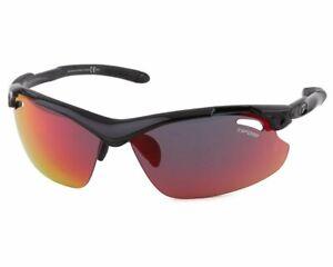 Tifosi Tyrant Sunglasses (Gloss Black frames/Clarion Red lenses)