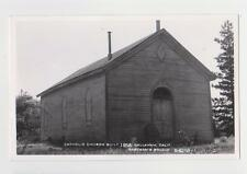 RPPC,Callahan,CA.Catholic Church,Siskiyou County,Eastman Photo,c.1950s