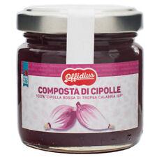 """Offidius - Composta di """"Cipolla rossa di Tropea Calabria IGP"""" - 110 gr"""