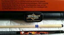 American heritage blazing 8 ball cue and case combo. $100 retail.
