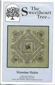 Victorian Violets by Sweetheart Tree cross stitch pattern