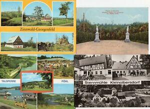Sachsen - Ansichtskarten - AK - Postkarten - Sammlung - Konvolut (1621)