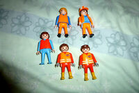 COLLECTION OF 5 WORKMEN PLAYMOBILE FIGURES
