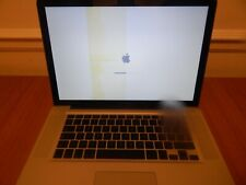 "Apple MacBook Pro 15.4"" Core 2 Due 2.40 GHz 4 GB 160 GB Late2008"
