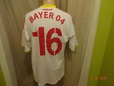 Bayer 04 Leverkusen Adidas Formotion U23 Matchworn Trikot 2010/11 + Nr.16 Gr.L