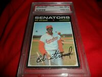 1971 OPC O-pee-chee Topps #217 Ed Stroud Washington Senators NM MINT PSA 8