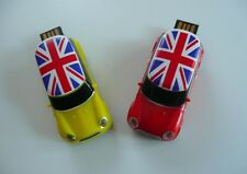 MINI COOPER Jaune Clé key USB voiture auto Flash drive English 32Gb USB-Stick