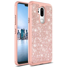 For LG G7 Thinq Shinning Glitter Sparkle Shockproof Case