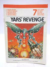 Anleitung - Handbuch - Bedienungsanleitung Atari - Yars' Revenge
