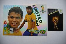 Thiago Silva XXL Limited Edition Panini Adrenalyn XL FIFA World Cup Brasil 2014