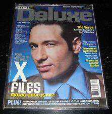 Deluxe Magazine, David Duchovny, The Verve, Anna Friel, Kate Beckinsale, RUN DMC