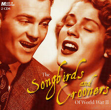 SONGBIRDS & CROONERS OF WW II NEW 2CD GREATEST HITS / BEST OF The 40's / Forties