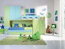 Cameretta Bambino Bambina Mod. Pier - Bambi 95 Ponte Soppalco Componibile