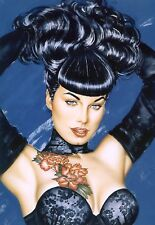 Bettie Page 5x7 Risque FREE US SHIPPING