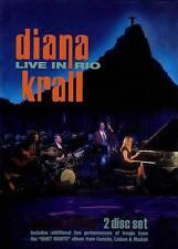 Diana Krall: Live in Rio [Blu-ray] DVD 2009 Jazz Concert, Piano, Bossa Nova, Ver