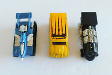 Lot Of 3 Hot Wheels: 1997 Big Lou's Dairy Delivery, 1992 AntEater & Rail Rodder