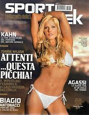 Sport Week.TORRIE WILSON,RYAN JAMES HOWARD,MATTEO CAVALLINI,ANDRE AGASSI