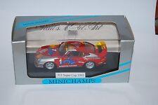 MINICHAMPS PORSCHE 911 SUPERCUP 1995 VIP CAR 430956501 NEUF/BOITE NEW/BOX 1/43