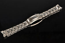 20mm Two Tone Watch Band Solid Curve End Oyster Bracelet For GMT Submariner