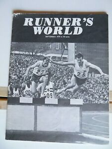 1970 Runner's World Sep SCARCE Dr Ken Cooper Future of RW? Track Field