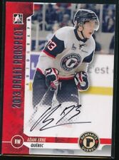 2012-13 ITG Draft Prospects Autographs #AAER Adam Erne