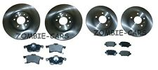 VAUXHALL ASTRA H MK5 1.7 CDTI 2005-2010 FRONT AND REAR BRAKE DISCS & PADS SET