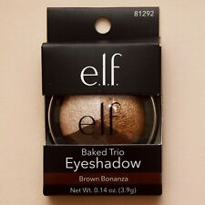 e.l.f Baked Trio Eyeshadow Brown Bonanza Set of 3 elf #81292