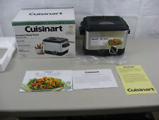 Cuisinart Compact Deep Fryer Model CDF-100-New Open Box