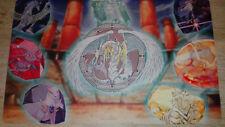 Yu-Gi-Oh! Kristallungeheuer Cyrstal Beats Playmat/Spielmatte/Gamemat Gummiert