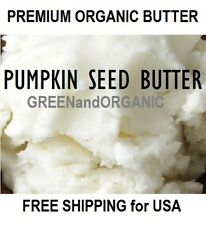 2 oz Premium Organic PUMPKIN SEED BUTTER RAW 100% NATURAL Cold Pressed COSMETIC