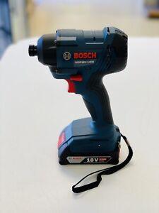 Bosch GDR18V-1400 18V 1/4'' Cordless Impact Driver w/ Battery, New No Box