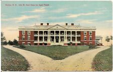 John M. Hunt Home For Aged People in Nashua NH Postcard