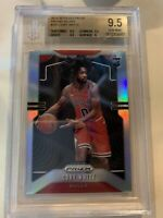 Coby White 2019-20 Panini Prizm Silver Refractor Rc BGS 9.5 Gem Bulls True Gem