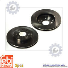 2X BRAKE DISC FOR SUBARU LEGACY OUTBACK BG EJ25D LIBERTY OUTBACK BG FEBI