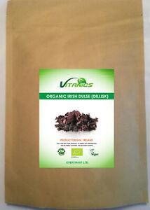 Organic Irish Dulse Whole Dried Leaves