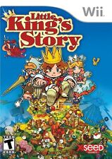 Little King's Story [Nintendo Wii, NTSC, RPG Simulation Town Management] NEW