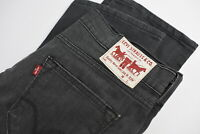 LEVI STRAUSS & CO. 504 Men's W33/~L30* Straight Fit Stretchy Grey Jeans 31570-GS