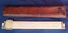 Vintage Keuffel & Esser 4088-2 Slide Rule Original Leather Case