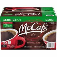 McCafe Decaf Premium Roast Keurig K Cup Coffee Pods (84 Count)