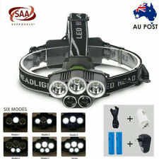 2020 Rechargeable 90000LM Headlamp XM-LT6 Q5 CREE LED Falshlight Torch Headlight