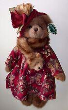 "Vivian Foxworth Bearington Collection Plush Bear 1597 2005-2006 NWT 14"""