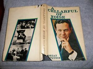 """THE BEATLES BRIAN EPSTEIN'S """" A CELLARFUL OF NOISE"""" FIRST ISSUE/PRINT BOOK 1964"""