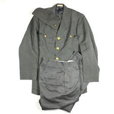 WW2 US MERCHANT MARINE USMM SLATE GRAY UNIFORM JACKET TROUSERS PANTS CAP HAT