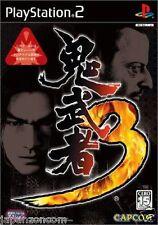 Used PS2 Capcom Onimusha 3 SONY PLAYSTATION JAPAN IMPORT