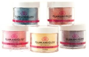 Glam and Glits Nail Design _GLITTER ACRYLIC POWDER_ 2oz Jar Pick !!!